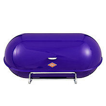 Buy Wesco Steel Breadboy Bread Bin, Purple Online at johnlewis.com