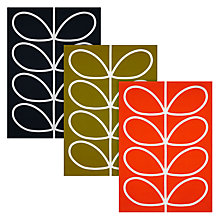 Buy Orla Kiely Linear Stem Tea Towels, Set of 3 Online at johnlewis.com