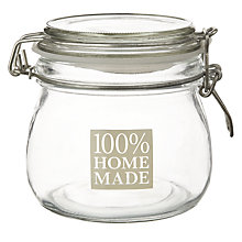 Buy Garden Trading '100% Homemade' Storage Jar Online at johnlewis.com