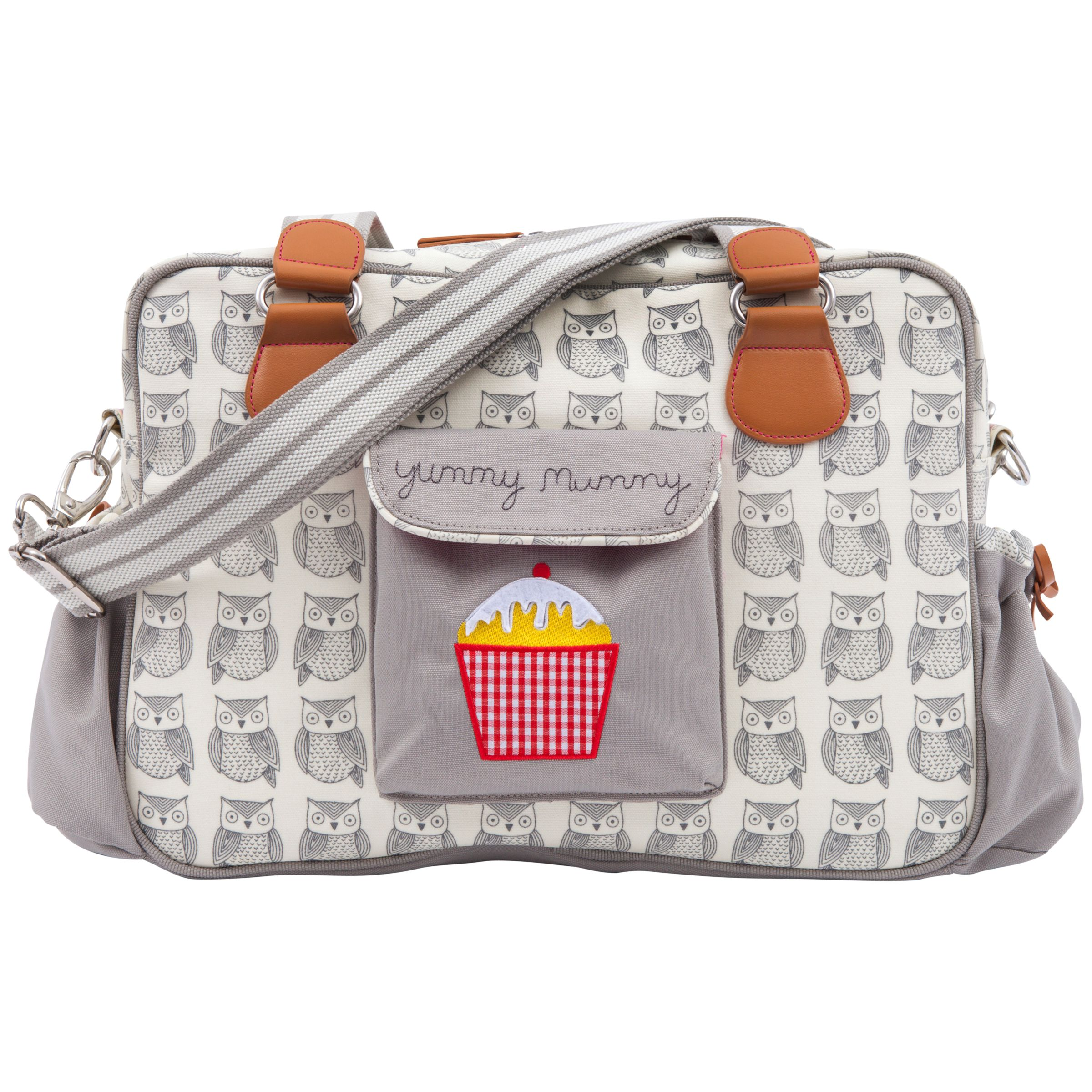 Pink Lining Yummy Mummy Changing Bag Owls