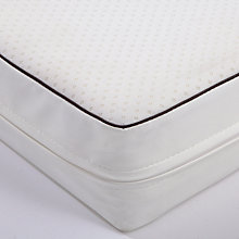 Buy John Lewis Pocket Spring Cot Mattress, 120 x 60cm & Mattress Protector Online at johnlewis.com