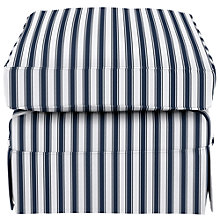 Buy John Lewis Padstow Loose Cover Footstool, Price Band C Online at johnlewis.com
