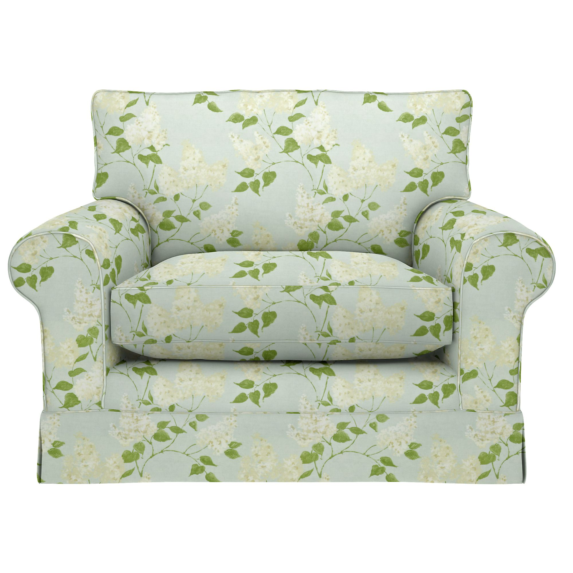 John Lewis Padstow Snuggler, Price Band E, Sanderson Lilacs Duck Egg