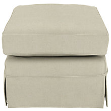Buy John Lewis Padstow Loose Cover Footstool, Price Band A Online at johnlewis.com