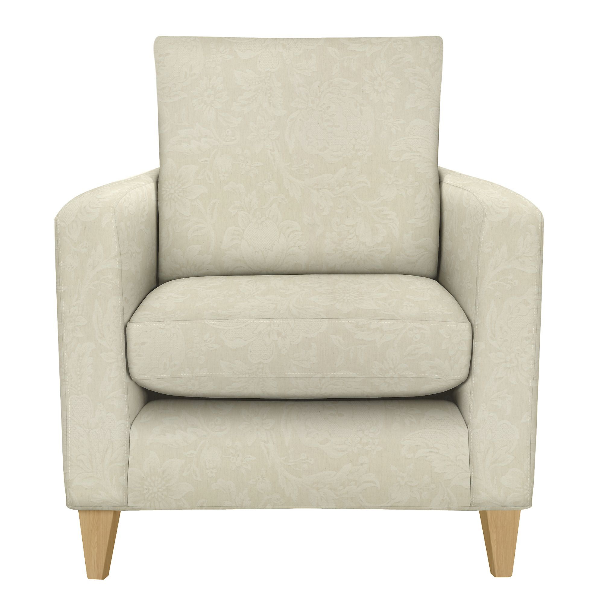 Light coloured fabric leather small snuggler sofas armchairs for Small fabric chair