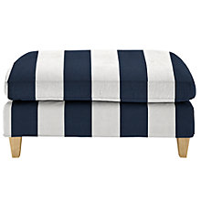 Buy John Lewis Bailey Loose Cover Footstool, Price Band C Online at johnlewis.com