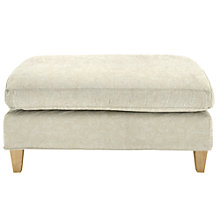 Buy John Lewis Bailey Footstool, Price Band B, Astley Natural Online at johnlewis.com