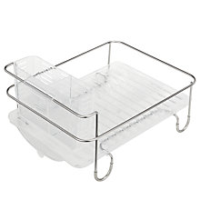 Buy simplehuman Mini Dish Drainer Online at johnlewis.com
