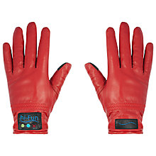 Buy hi-Fun hi-Call Leather, Bluetooth Gloves Online at johnlewis.com