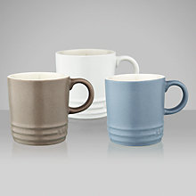 Buy Le Creuset Cotton Espresso Mug Set, 3 Pieces Online at johnlewis.com