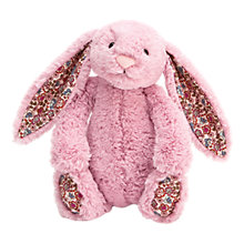 Buy Jellycat Small Blossom Bunny Soft Toy, Pink Online at johnlewis.com