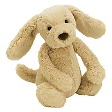 Buy Jellycat Bashful Toffee Puppy, Medium Online at johnlewis.com