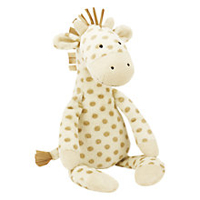 Buy Jellycat Georgie Giraffe Soft Toy, Brown Online at johnlewis.com