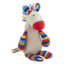 Buy Jellycat Jazzie Pony Squeaker Toy, Multi Online at johnlewis.com