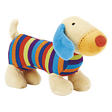 Buy Jellycat Jazzie Puppy Squeaker Toy, Multi Online at johnlewis.com