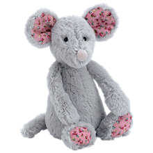 Buy Jellycat Blossom Bashful Grey Mouse, Small Online at johnlewis.com