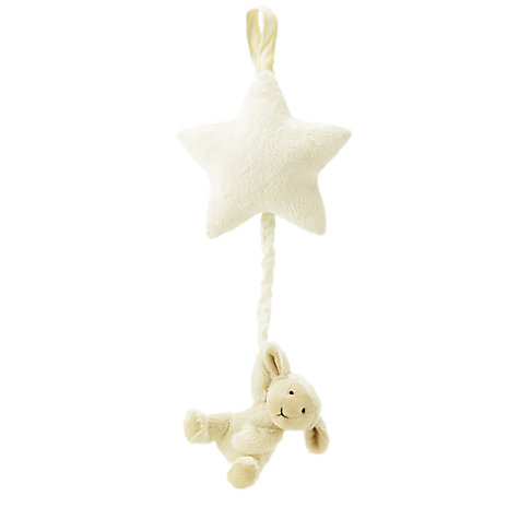 Buy Jellycat Bashful Lamb Star Musical Pull Online at johnlewis.com