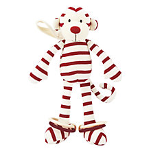 Buy Jellycat Zoot Monkey Soft Toy, Red Online at johnlewis.com
