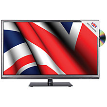 "Buy Goodmans 32DL833B LED HD Ready TV/DVD Combi, 32"" with Built-in Freeview Online at johnlewis.com"