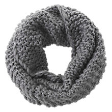 Buy Mint Velvet Metallic Snood, Granite Online at johnlewis.com