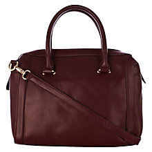 Buy Warehouse Formed Bowling Bag, Dark Red Online at johnlewis.com