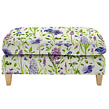 Buy John Lewis Bailey Loose Cover Footstool, Price Band E Online at johnlewis.com
