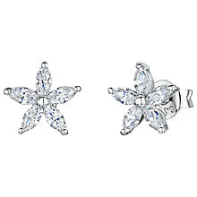 Buy Jools by Jenny Brown Cubic Zirconia Stud Earrings Online at johnlewis.com