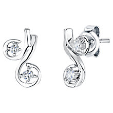 Buy Jools by Jenny Brown Cubic Zirconia Cherry Stud Earrings Online at johnlewis.com
