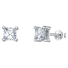 Buy Jools by Jenny Brown Four Prong Square Cut Cubic Zirconia Stud Earrings Online at johnlewis.com
