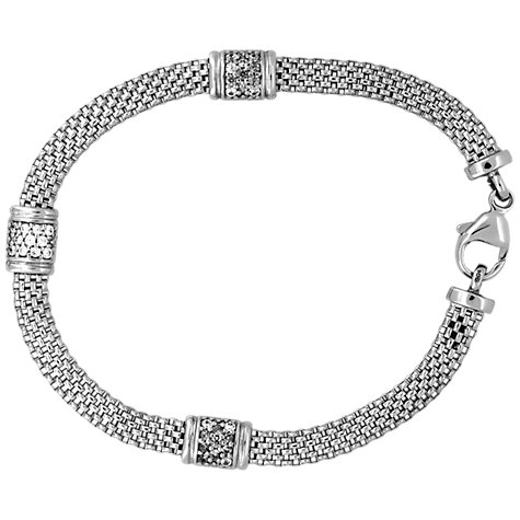 Buy Jools by Jenny Brown 3 Cubic Zirconia Bead Chain Bracelet Online at johnlewis.com