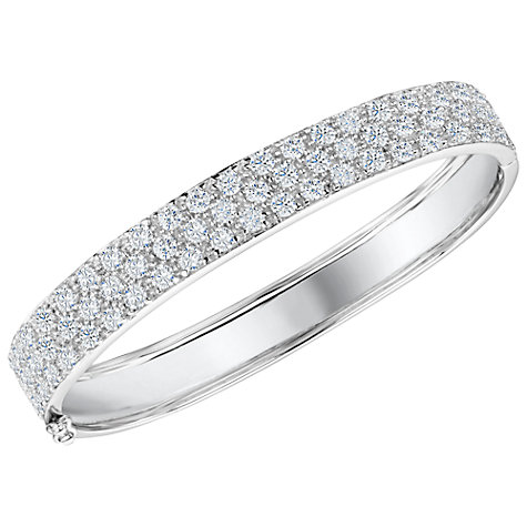Buy Jools by Jenny Brown Cubic Zirconia Pavé Bangle Online at johnlewis.com