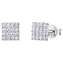 Buy Jools by Jenny Brown Square Pavé Set Stud Earrings Online at johnlewis.com