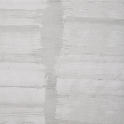 Buy John Lewis Brushstrokes Wallpaper, Smoke Online at johnlewis.com