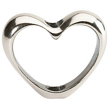 Buy Trollbeads In Your Heart Bead, Silver Online at johnlewis.com