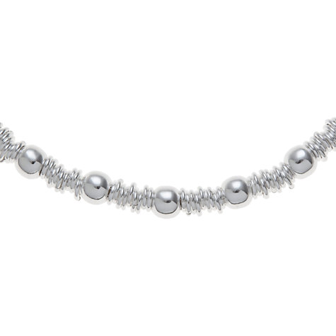 Buy Andea Sterling Silver Ring And Ball Necklace Online at johnlewis.com