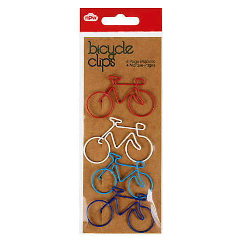 Buy Natural Products Bicycle Clips, Pack Of 4 Online at johnlewis.com