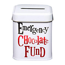 Buy Really Good Bright Side Money Tin, White Online at johnlewis.com