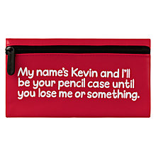 Buy Waldo Pancake Kevin Pencil Case, Red Online at johnlewis.com
