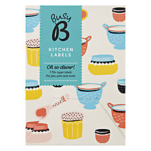 Buy Busy B Kitchen Labels, Multi Online at johnlewis.com