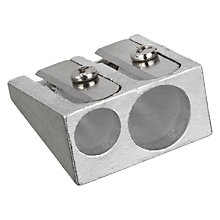 Buy Metal Double Pencil Sharpener Online at johnlewis.com