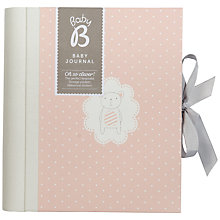 Buy Ktwo Baby B Girl Journal, Multi Online at johnlewis.com