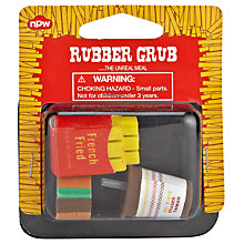 Buy Natural Products Rubber Grub Erasers, Multi Online at johnlewis.com
