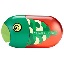 Buy Graf Von Faber Castell Fish Rubber and Sharpener Online at johnlewis.com