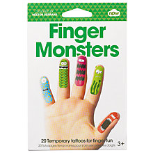 Buy Natural Products Finger Monsters, Multi Online at johnlewis.com