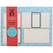 Buy Ktwo Busy B Weekly Planner Pad, Multi Online at johnlewis.com