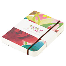 Buy Caroline Gardner Floral Print Chunky Notebook, Multi, Small Online at johnlewis.com