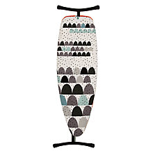 Buy Brabantia Black Dunes Ironing Board, L135 x W45cm Online at johnlewis.com