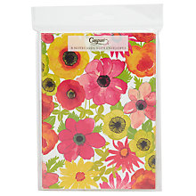 Buy Caspari Bloom Notecards, Multi, Pack Of 8 Online at johnlewis.com