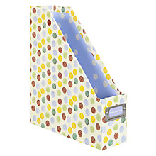 Buy Emma Bridgewater Polka Dot Print Magazine Rack, Multi Online at johnlewis.com