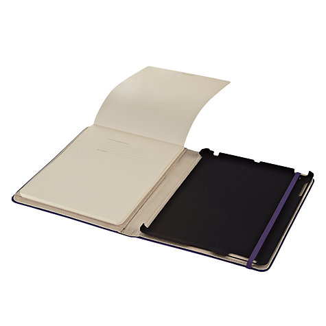 Buy Moleskin iPad Cover, Violet Online at johnlewis.com